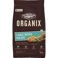 Castor & Pollux Organix Large Breed Recipe with Chicken, Brown Rice & Flaxseed Adult Dry Dog Food, 25-lb bag