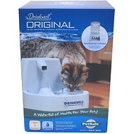 Drinkwell Original Pet Fountain with Bonus 50-Ounce Reservoir