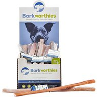 "Barkworthies Odor-Free Joint & Mobility 12"" Bully Sticks Dog Treats, Case of 35"