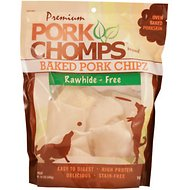 Premium Pork Chomps Baked Chipz Dog Treats, 12-oz bag