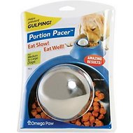 Omega Paw Stainless Steel Portion Pacer, Medium/Large