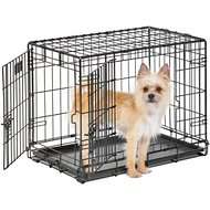 MidWest Life Stages Double Door Dog Crate, 24-inch