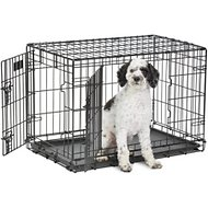 MidWest Life Stages Double Door Dog Crate, 30-inch