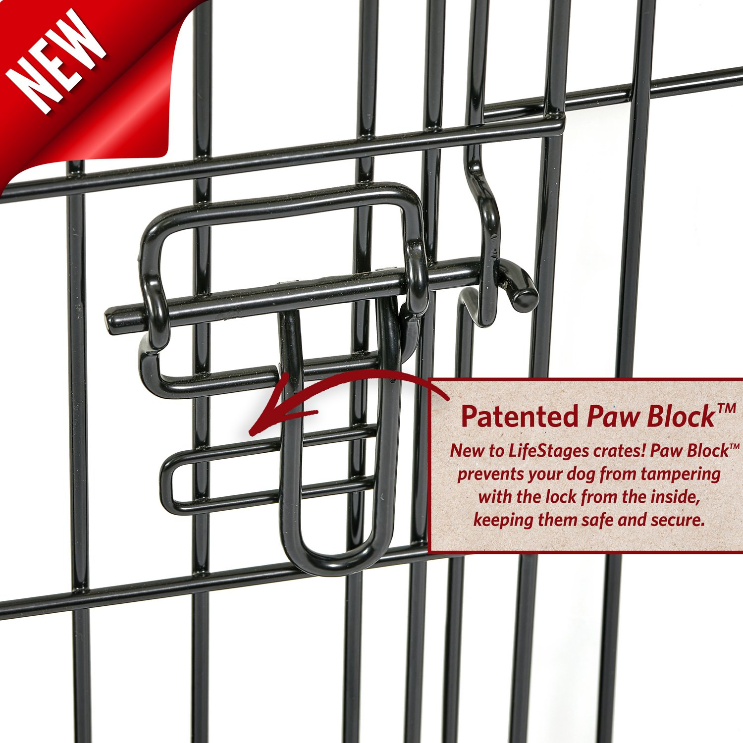 Midwest life stages double door dog crate 30 inch for Double door with dog door