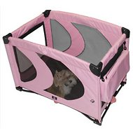 Pet Gear Home 'N Go Pet Pen, Pink Ice, Small