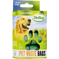 BioBag Pet Waste Bags on a Roll, 45 count