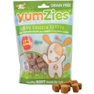 YumZies Barbecue Chicken Flavor Grain-Free Dog Treats, 8-oz bag
