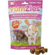 YumZies Hickory Bacon Flavor Grain-Free Dog Treats, 8-oz bag