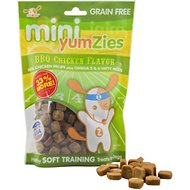 YumZies Mini Barbecue Chicken Flavor Grain-Free Dog Treats, 8-oz bag
