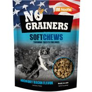 No Grainers Hickory Bacon Flavor Soft Chews Grain-Free Dog Treats, 16-oz bag