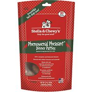 Stella & Chewy's Phenomenal Pheasant Dinner Patties Grain-Free Freeze-Dried Dog Food, 15-oz bag
