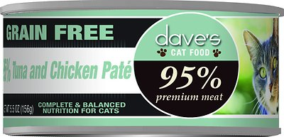 2. Dave's Pet Food Tuna and Chicken Pate