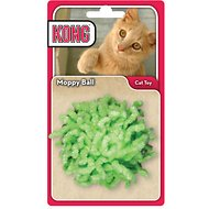 KONG Moppy Ball Cat Toy, Color Varies