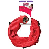 KONG Active Nylon Tunnel Cat Toy, Red