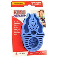 KONG Dog ZoomGroom Multi-Use Brush, Small/Puppy Boysenberry