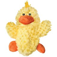 KONG Plush Duck Dog Toy, Small