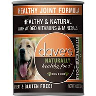 Dave's Pet Food Naturally Healthy Joint Formula Canned Dog Food, 13-oz, case of 12
