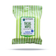 Earthbath Specialty Facial Wipes for Dogs & Cats, 25-count
