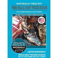 Dave's Pet Food Naturally Healthy Pork Meal & Sweet Potato Dinner Limited Ingredient Dry Dog Food, 30-lb bag