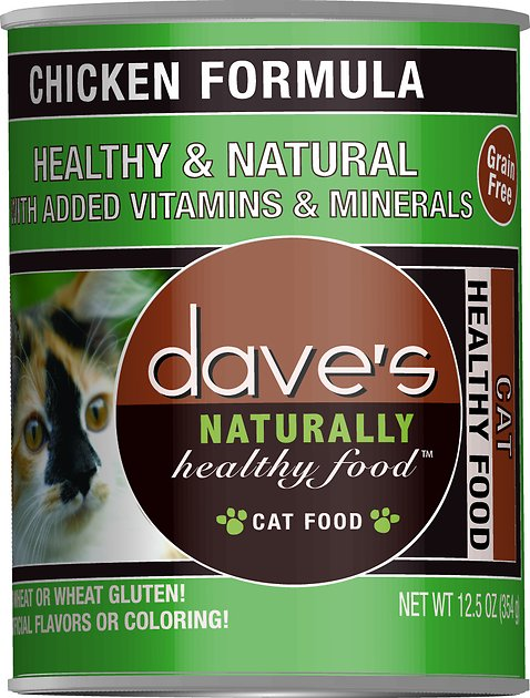 Dave S Naturally Healthy Cat Food