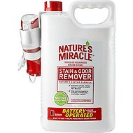 Nature's Miracle Stain & Odor Remover, 1.5-gal bottle