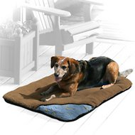 Kurgo Wander Dog Bed, Brown, Medium