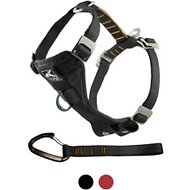 Kurgo Tru-Fit Smart Harness with Steel Nesting Buckles Enhanced Strength, Black, Large