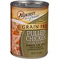 Against the Grain Hand Pulled Chicken with Gravy Dinner Grain-Free Canned Dog Food
