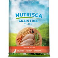 Nutrisca Grain-Free Chicken Recipe Dry Cat Food, 13-lb bag