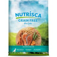 Nutrisca Grain-Free Salmon Recipe Dry Cat Food, 13-lb bag