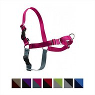 PetSafe Easy Walk Dog Harness, Raspberry/Gray, Medium/Large