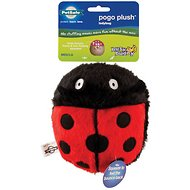 Busy Buddy Pogo Plush Ladybug Dog Toy, Large