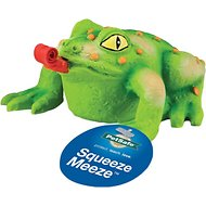 Busy Buddy Squeeze Meeze Latex Frog Dog Toy, Junior