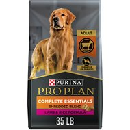 Purina Pro Plan Savor Adult Shredded Blend Lamb & Rice Formula Dry Dog Food, 35-lb bag