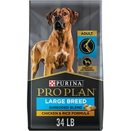 Purina Pro Plan Savor Adult Shredded Blend Large Breed Formula Dry Dog Food, 34-lb bag
