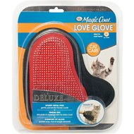Four Paws Magic Coat Deluxe Love Glove with Tender Tips for Cats