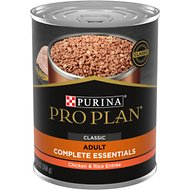 Purina Pro Plan Savor Adult Classic Chicken & Rice Entree Canned Dog Food, 13-oz, case of 12