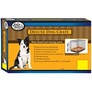 Four Paws Deluxe Single Door Dog Crate, Medium