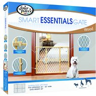 Four Paws Plastic Mesh Safety Gate