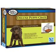 Four Paws Deluxe Double Door Puppy Crate