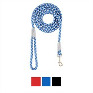 Four Paws Nite Brite Reflecting Dog Leash, Blue, Small