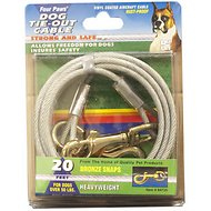 Four Paws Heavy Weight Tie Out Cable, 20-ft