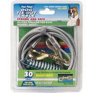 Four Paws Heavy Weight Tie Out Cable, 30-ft