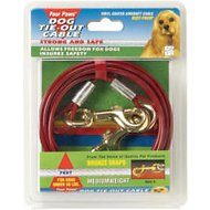 Four Paws Medium Weight Tie Out Cable, 20-ft
