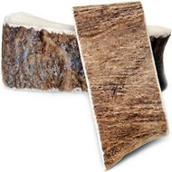 USA Antlers Moose Flatastic Snack Antler Chew, Large