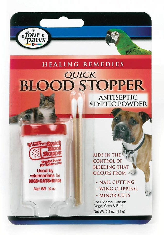 Four Paws Quick Blood Stopper Powder, 0.5-oz bottle - Chewy.com