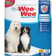 "Wee-Wee Pads Gigantic, 27.5"" x 44"", 18 count"