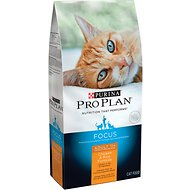 Purina Pro Plan Focus Adult 11+ Chicken & Rice Formula Dry Cat Food, 7-lb bag