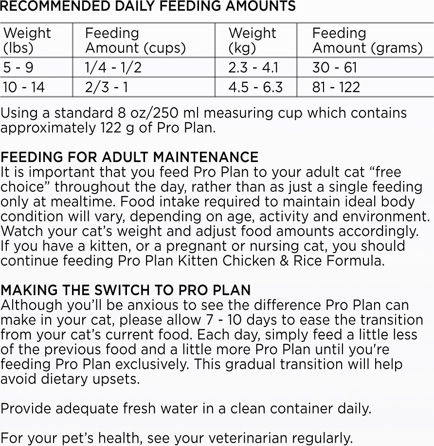Purina pro plan dry cat food coupon