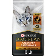 Purina Pro Plan Savor Adult Chicken & Rice Formula Dry Cat Food, 16-lb bag